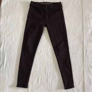 American Eagle Jegging Next Level Stretch Purple